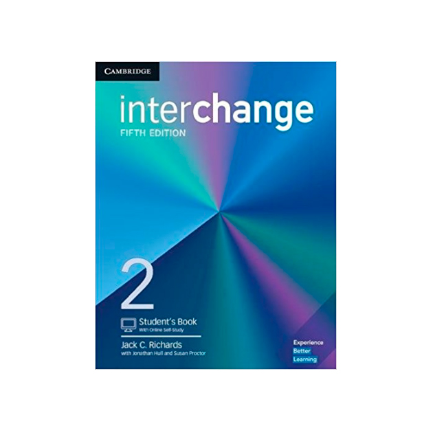 Interchange. Level 2. Student\'S Book With Online Self-Study