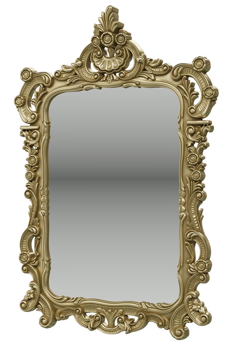 Зеркало Мэри Мебель ЗК 01, цвет бронза,