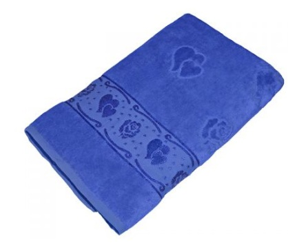 Полотенце Aisha УП-016-05 70х140 см Синий