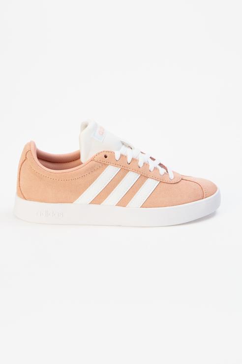 Кроссовки женские Adidas VL COURT 2.0 розовые 36 RU
