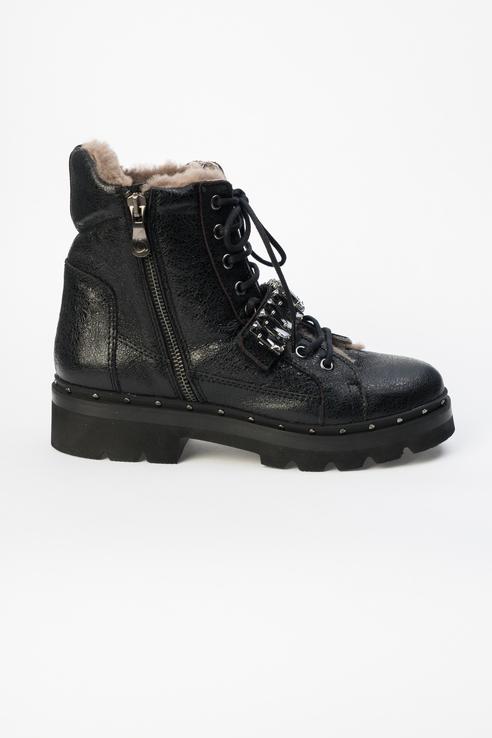 Ботинки женские Kanna KI8807 черные 37 RU