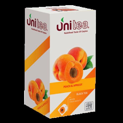Чай черный Юнити персик-абрикос 25*2 г фото
