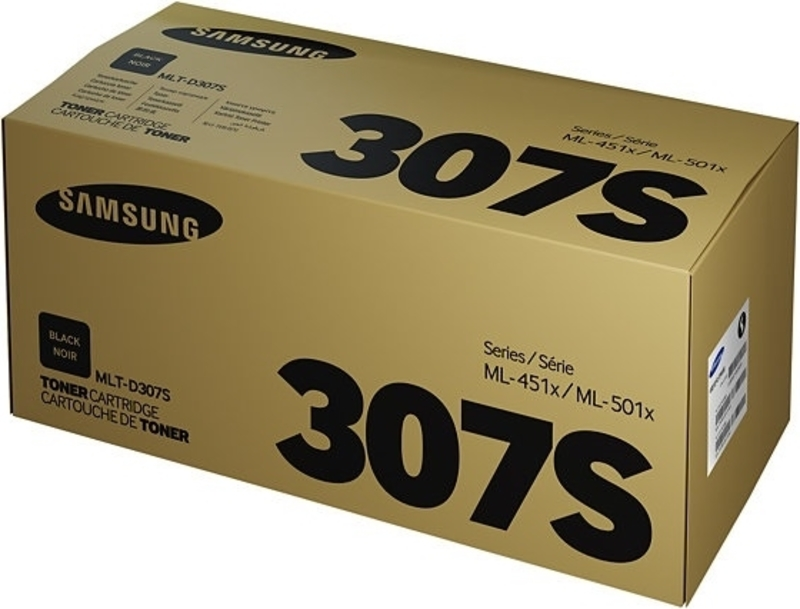 Картридж для лазерного принтера Samsung MLT-D307S, черный, оригинал