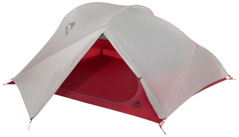 Палатка MSR Freelite трехместная серая