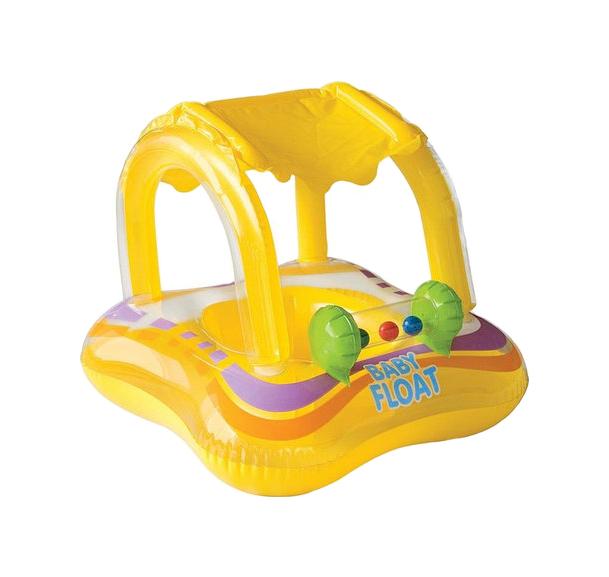 Игрушка надувная Intex Плот с навесом