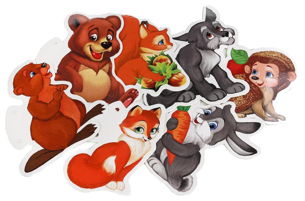 Купить Дидактические игры Умка Лесные Животные