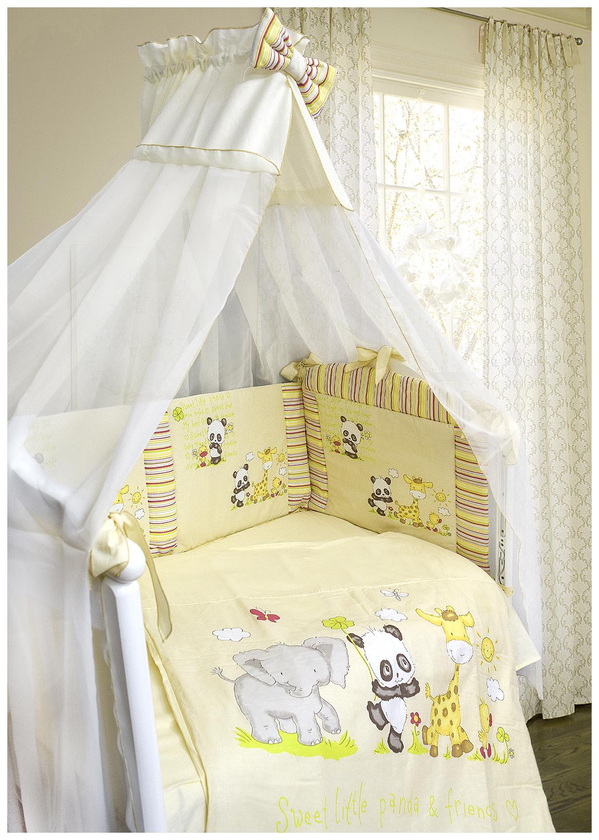 Комплект детского постельного белья Bombus ПАНДА С ДРУЗЬЯМИ 5573 фото