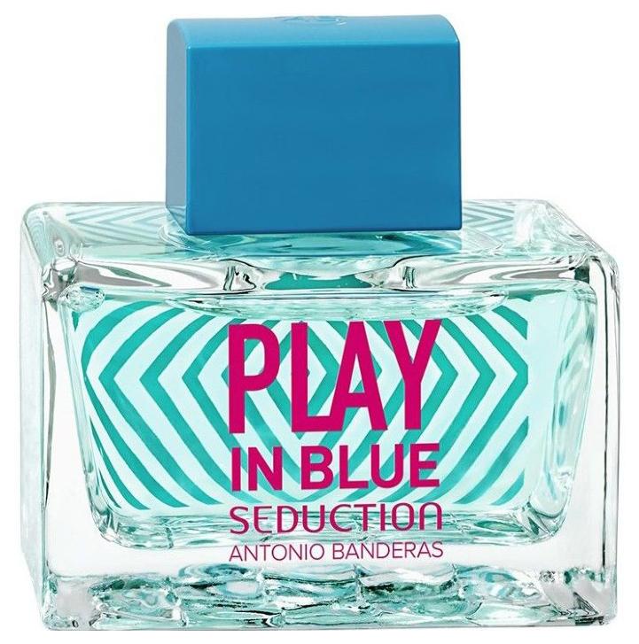 Туалетная вода Antonio Banderas Play In Blue Seduction For Women 80 мл