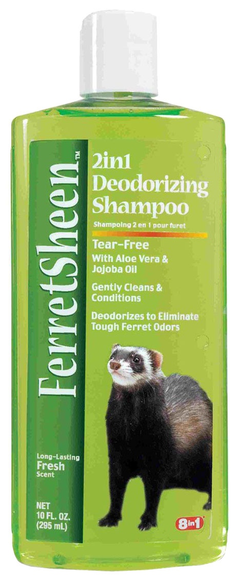 Шампунь для домашнего питомца 8in1 Shampoo Ferretsheen Deodorizing для хорьков 295 мл