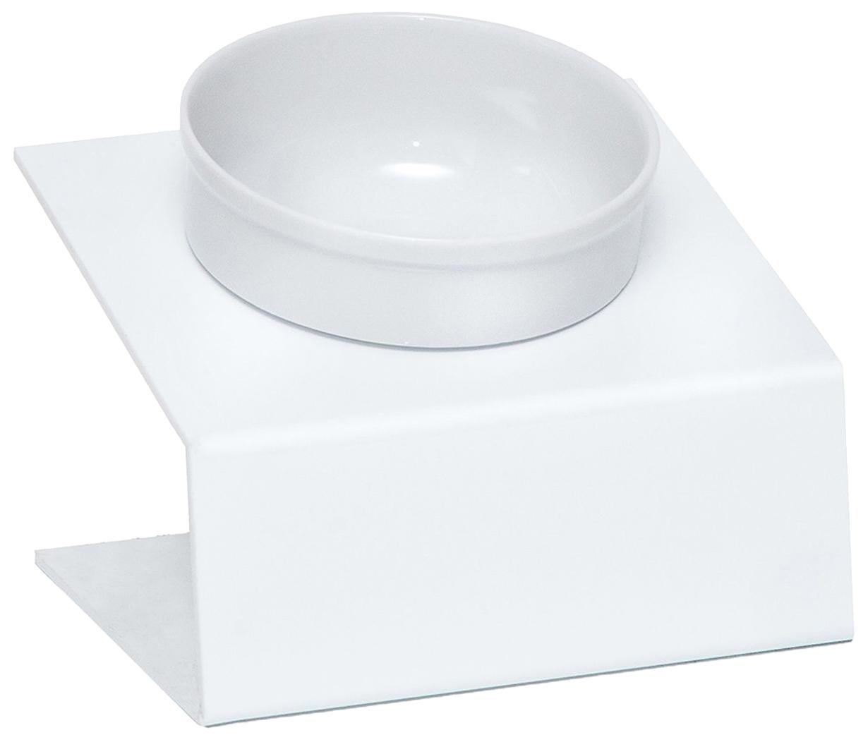 Одинарная миска для кошек Artmiska, керамика, пластик,