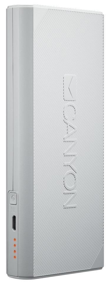 Внешний аккумулятор CANYON CNE-CPBF130W 13000 мА/ч White фото