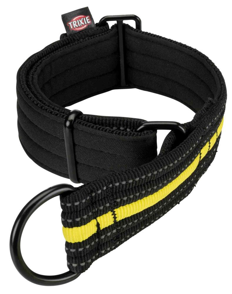 Ошейник для собак Trixie Fusion Sporting S черный/желтый 192 г 207308