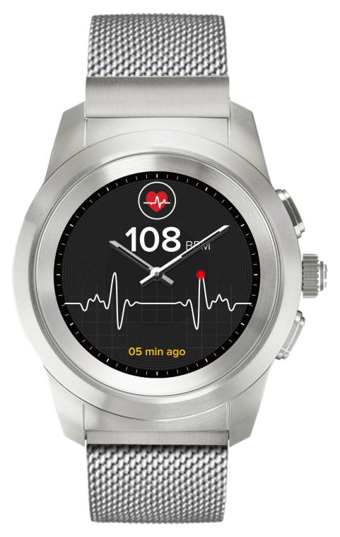 Смарт часы MyKronoz ZeTime Petite Elite Silver/Silver