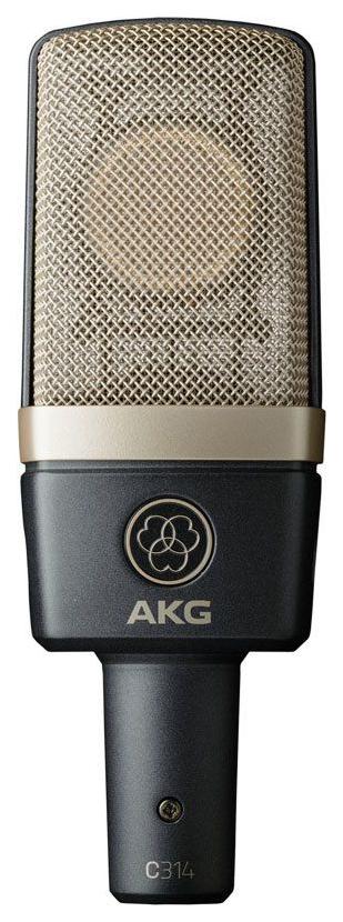 Микрофон конденсаторный AKG C314