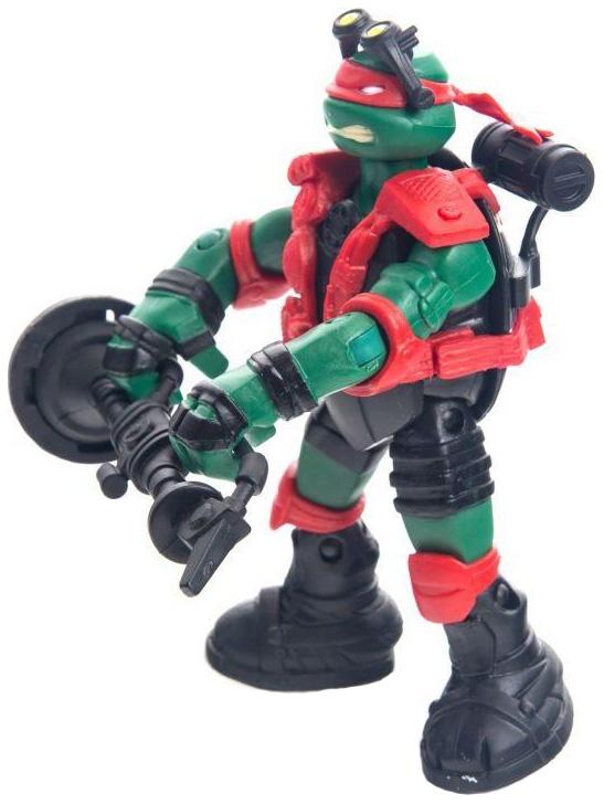 Купить Фигурка Playmates Toys черепашки-ниндзя, 12 см, Технологичный Раф, Игровые наборы