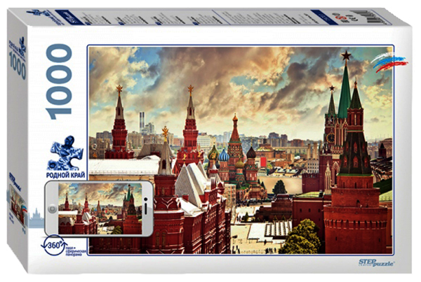 Пазлы Step Puzzle Родной край Москва 1000 элементов