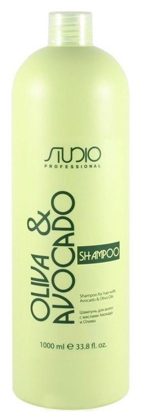 Купить Шампунь Kapous Professional С маслами авокадо и оливы 1000 мл