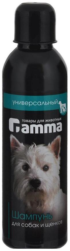Шампунь бальзам для собак и щенков Gamma