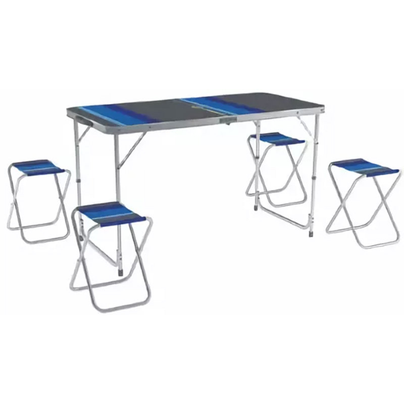 Набор мебели для пикника Zagorod В 103 (синий)