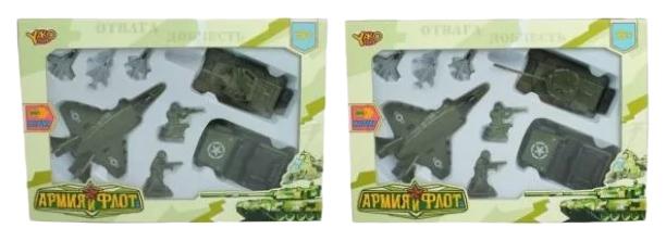 Игровой набор Shantou Gepai Армия и флот, инерционный механизм, предметов 8 шт M7099