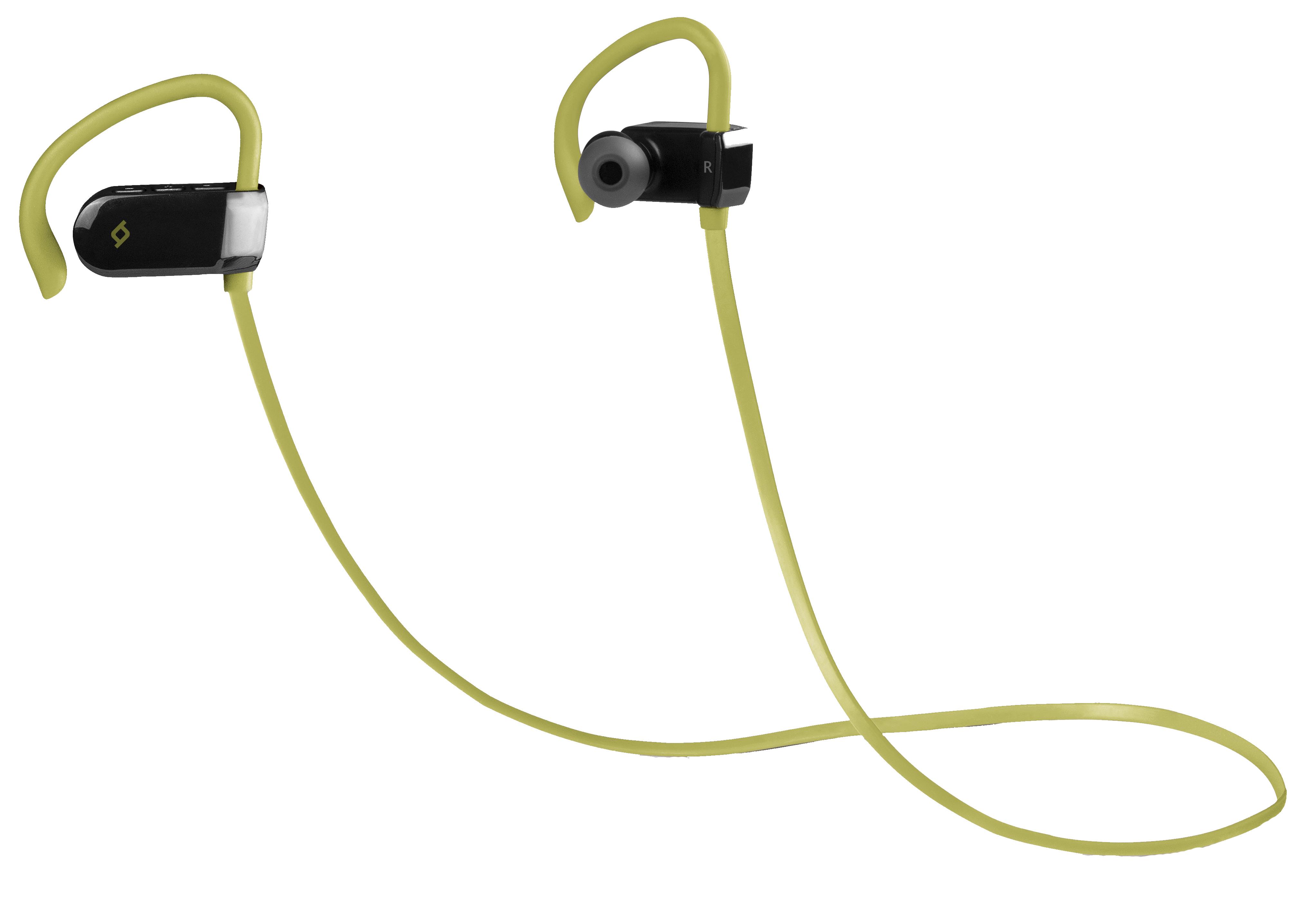 Беспроводные наушники TTEC SoundBeat Sport Green (2KM118Y)