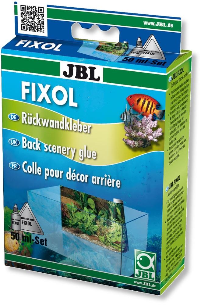 Специальный клей JBL FIXOL для приклеивания аквариумных