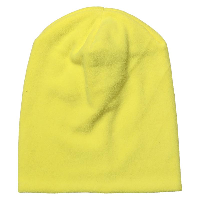 Купить Шапка детская Bambinizon из флиса Лимонная ШАФ-ЛИМ р.92, Детские шапки и шарфы