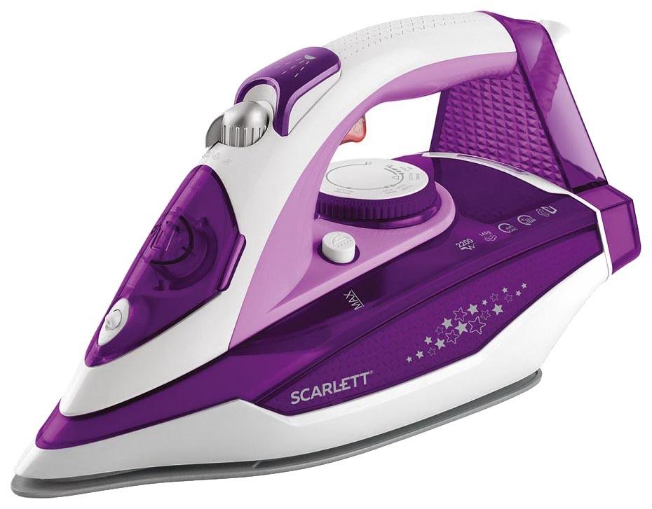 Утюг Scarlett SC SI30K34 Фиолетовый, белый