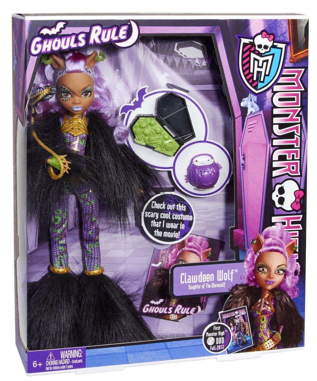 Купить Кукла Monster High Клодин Вульф - Маскарад X3715, Классические куклы