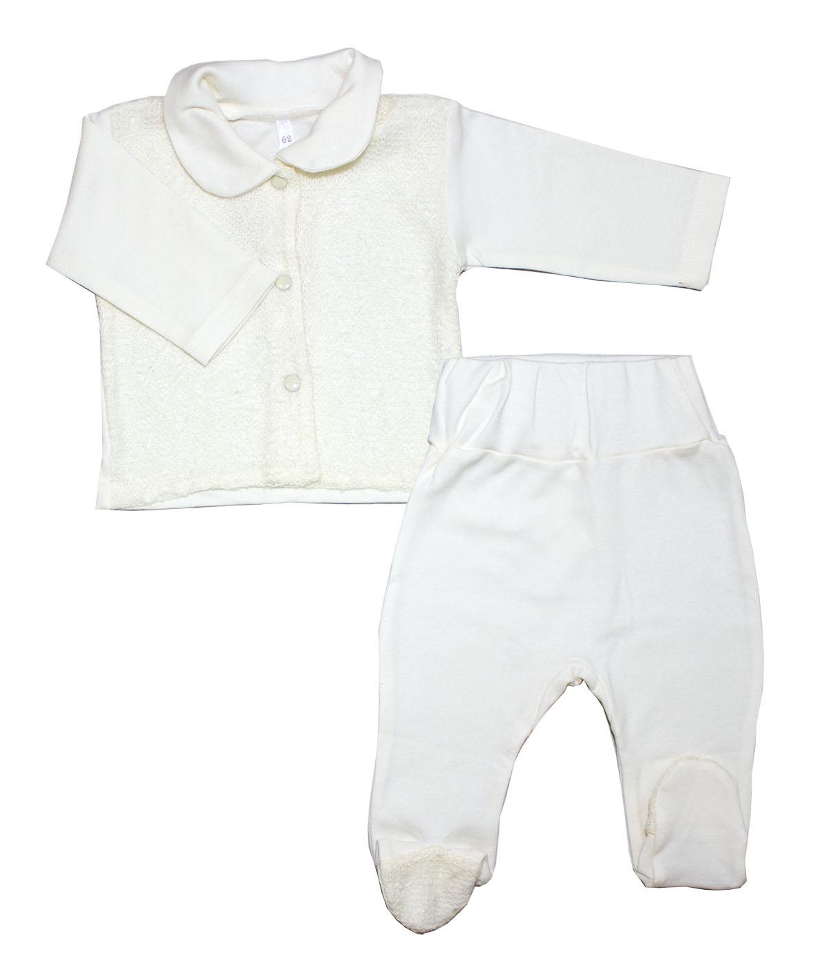 Комплект одежды Осьминожка бежевый р.68