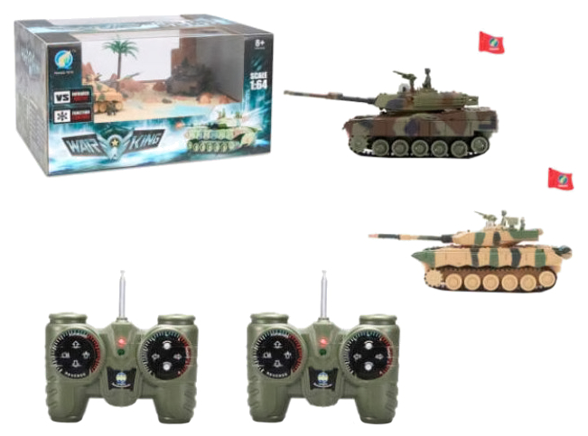Радиоуправляемый мини танковый бой Fengqi toys 9819