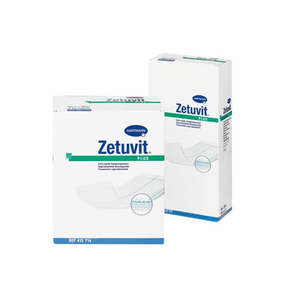 Повязка Zetuvit plus сорбционная стерильная с повышенной