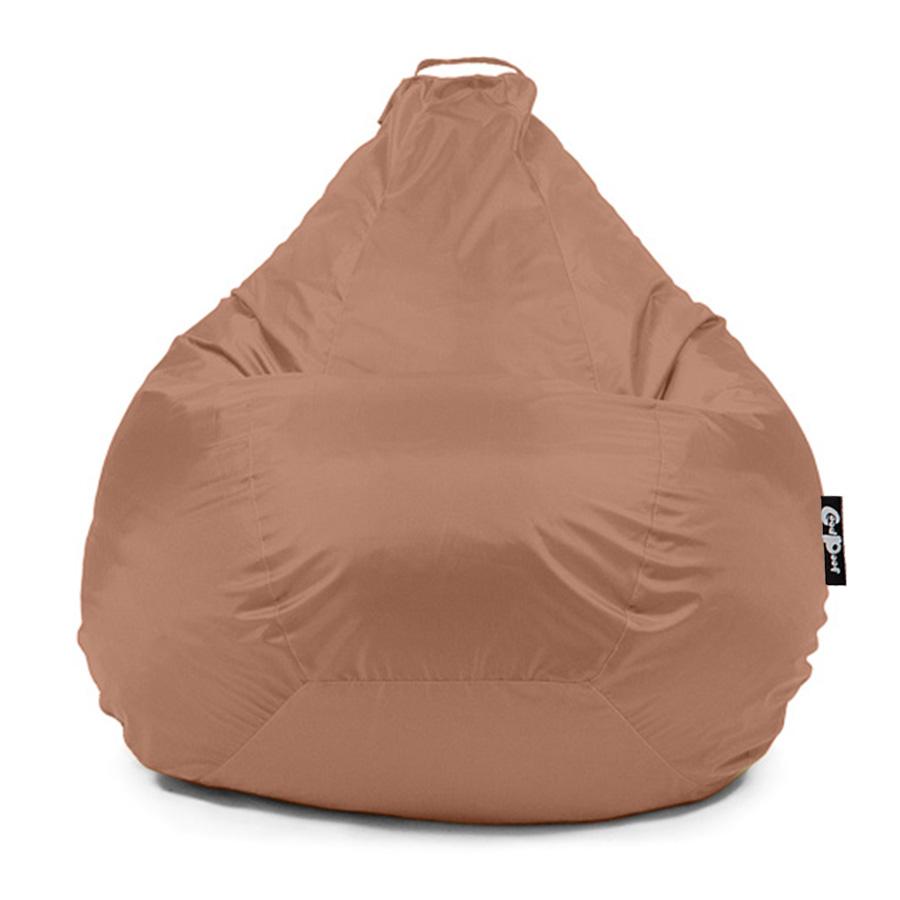 Кресло-мешок GoodPoof Груша Оксфорд, размер M, оксфорд, бежевый