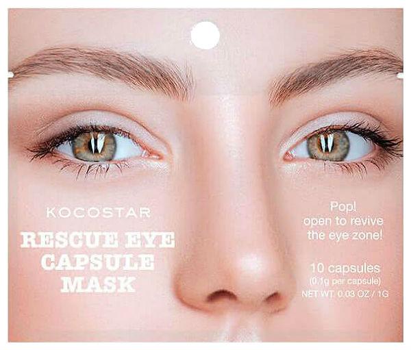 Сыворотка для глаз Kocostar Rescue Eye Capsule Mask
