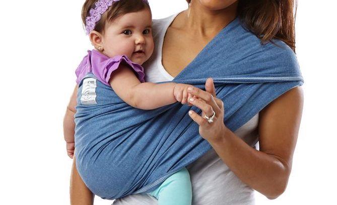 Купить Слинг Baby K'tan Original Denim XS, Слинги для новорожденного