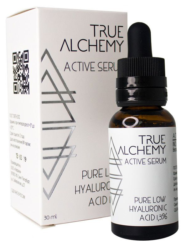 Сыворотка для лица Levrana True Alchemy Pure Hialuronic Acid low 1,3% 30 мл по цене 480