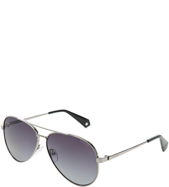 Солнцезащитные очки женские Polaroid PLD 6069/S/X 6LB WJ, серебряный фото
