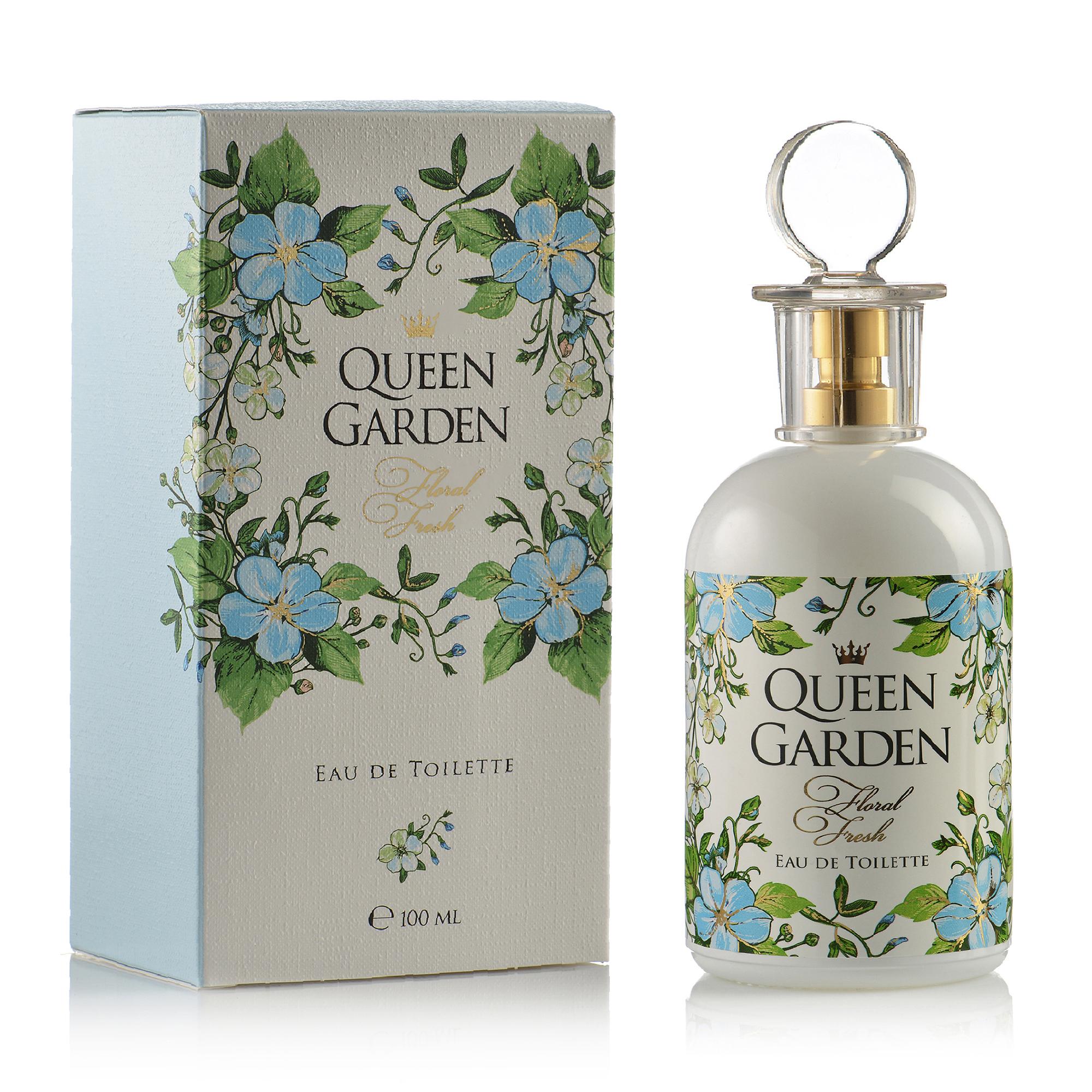 Туалетная вода для женщин ПАРФЮМЕРИЯ XXI ВЕКА Queen Garden Floral Fresh