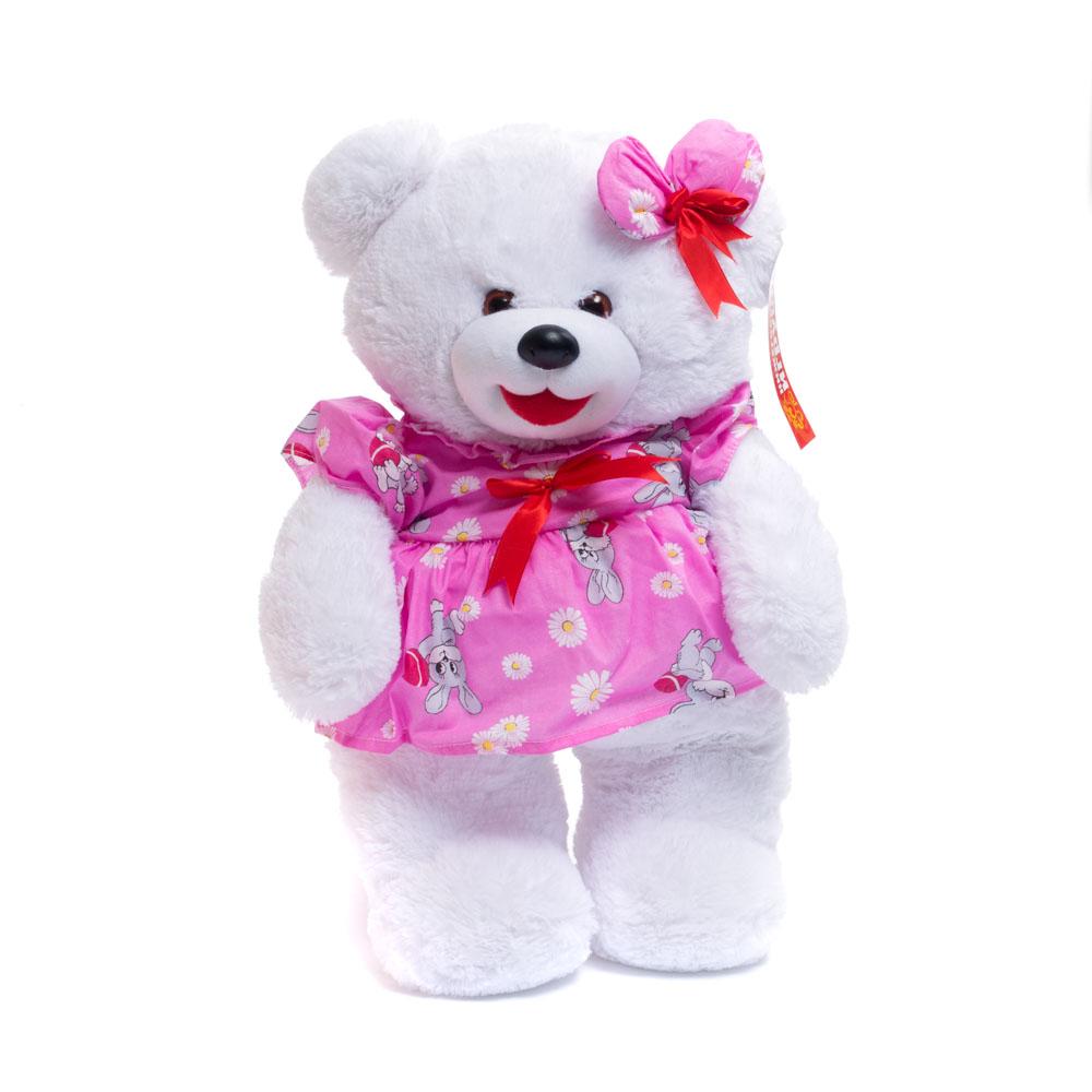 Купить Мягкая игрушка Нижегородская Игрушка Медведь в платье, Нижегородская игрушка, Мягкие игрушки животные