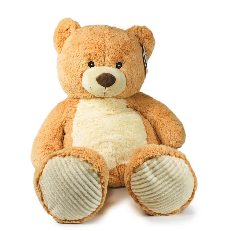 Купить Мягкая игрушка Teddykompaniet Медвежонок Вигго, бежевый, 60 см, 12581, Мягкие игрушки животные