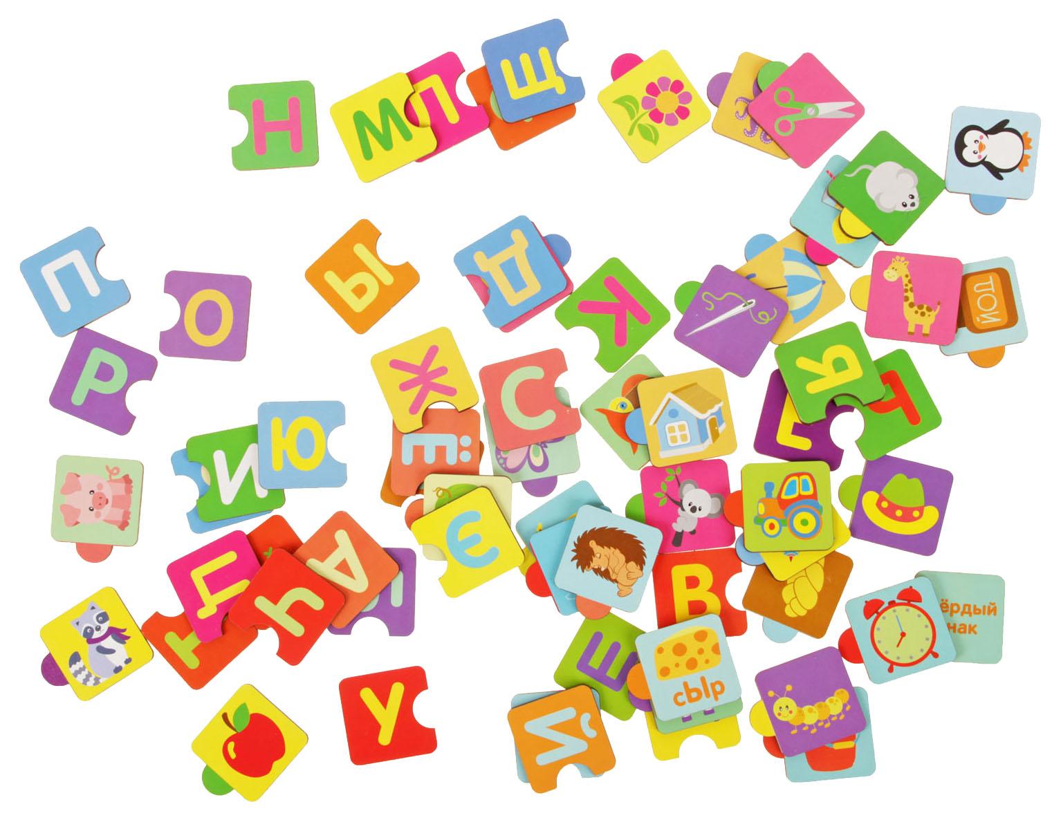 Пазл Русский алфавит, 66 элементов