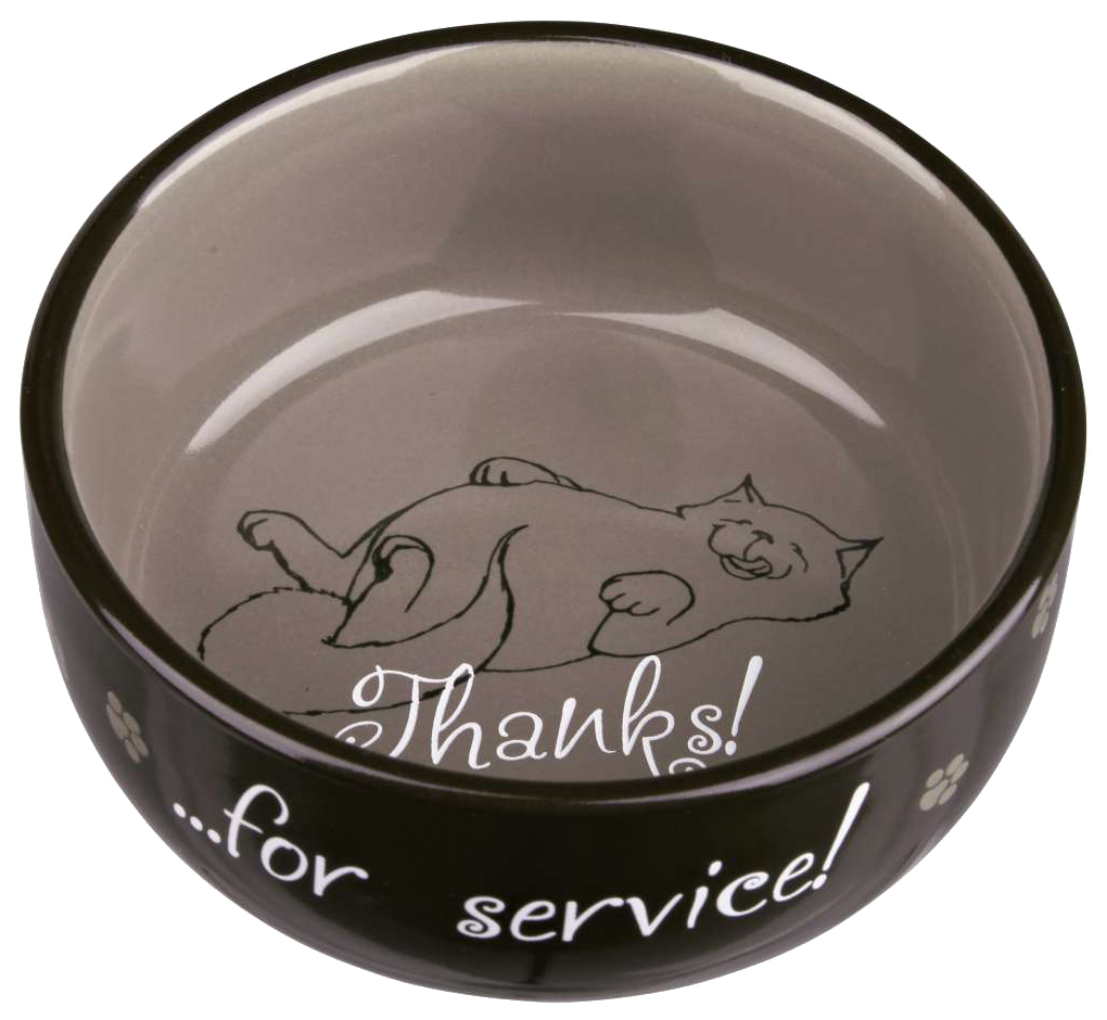 Миска для кошек TRIXIE Thanks for Service,