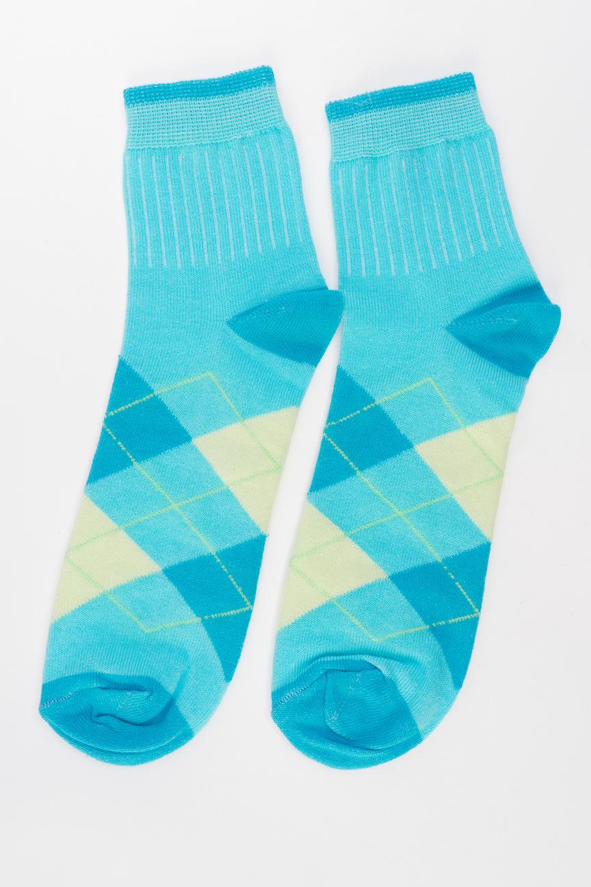 Носки женские Мой размер Ж-026 голубые 38