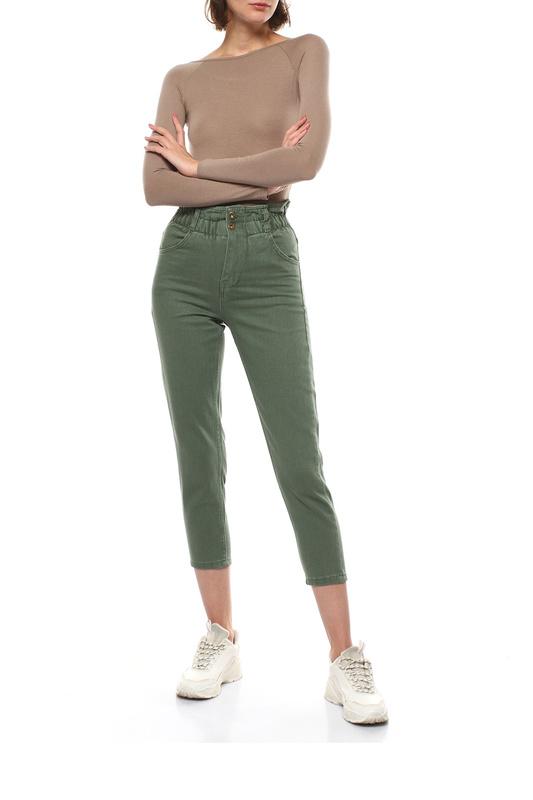 Джинсы женские MONDIGO 3784 зеленые 50