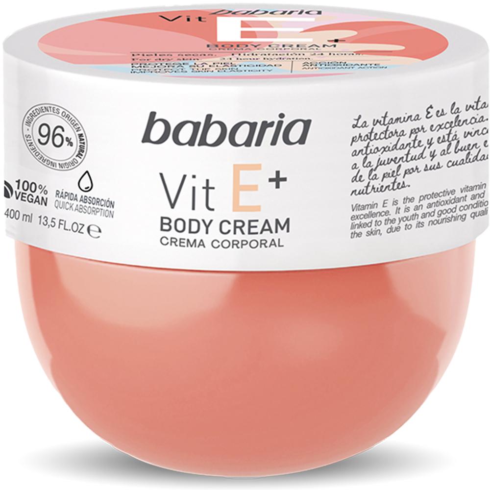 Купить Крем для тела Babaria с Витамином Е+ 400 мл, Крем для тела Babaria с Витамином Е+. 400 мл