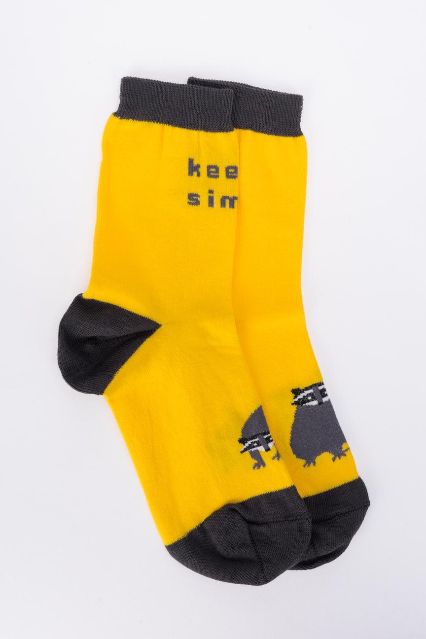 Носки женские big bang socks a1212 желтые 35-39