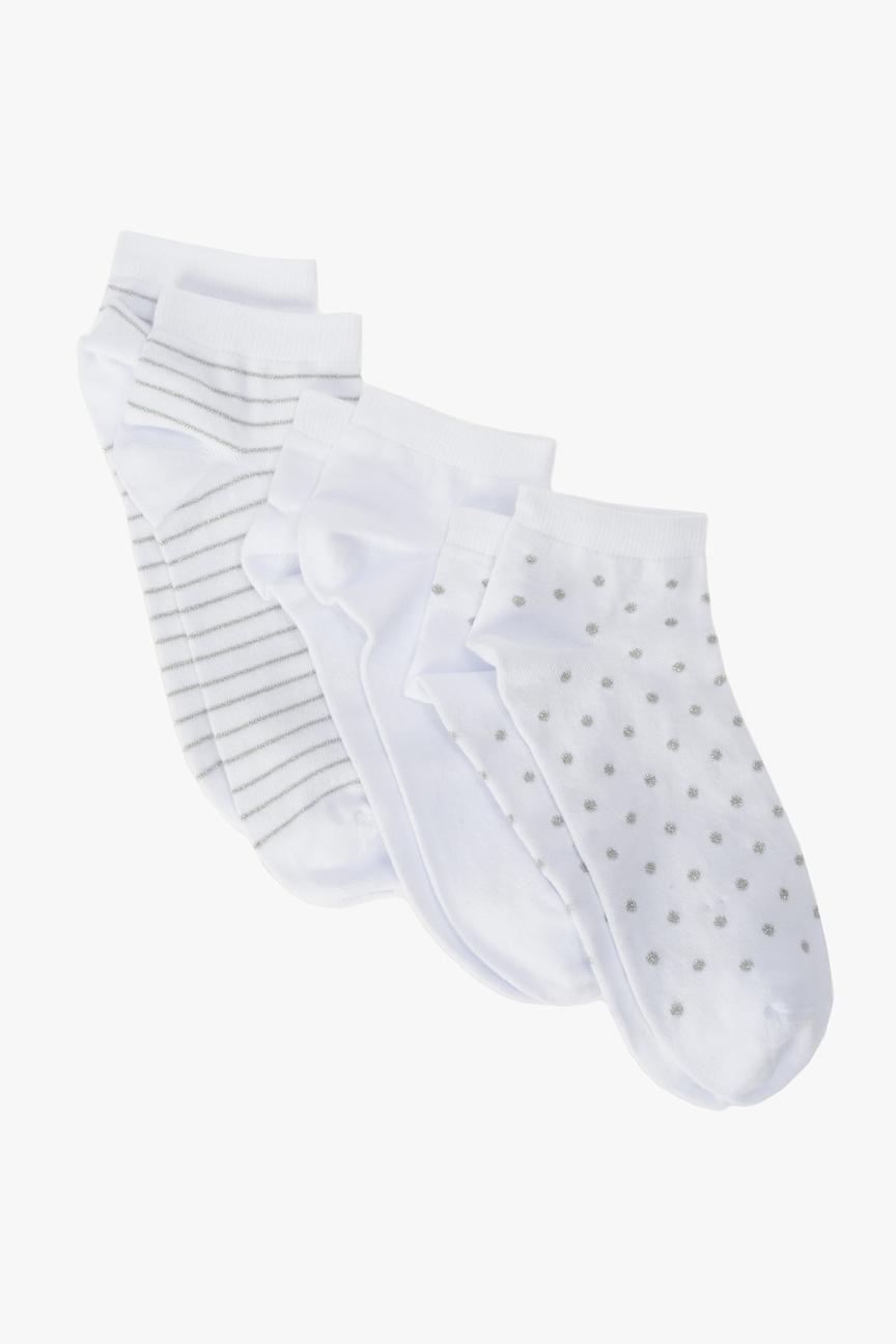 Набор носков женских Ennergiia 321A-615 белых 36-39