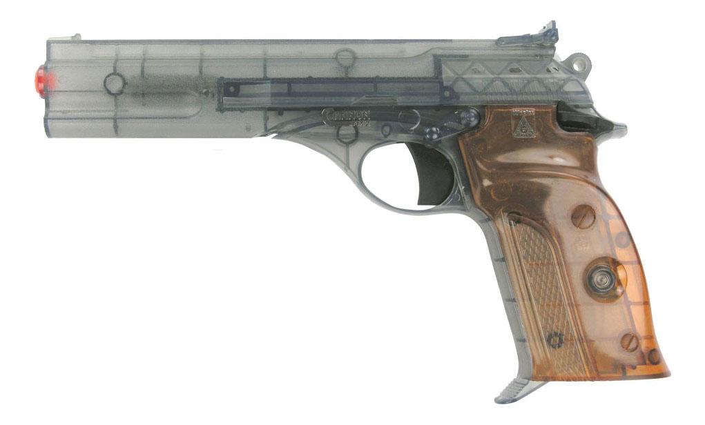 Купить Пистолет Cannon MX2 Агент, Пистолет игрушечный Cannon MX2 АГЕНТ 50-зарядные Gun, Agent 235mm, упаковка-карта, Sohni-Wicke, Игрушечные пистолеты