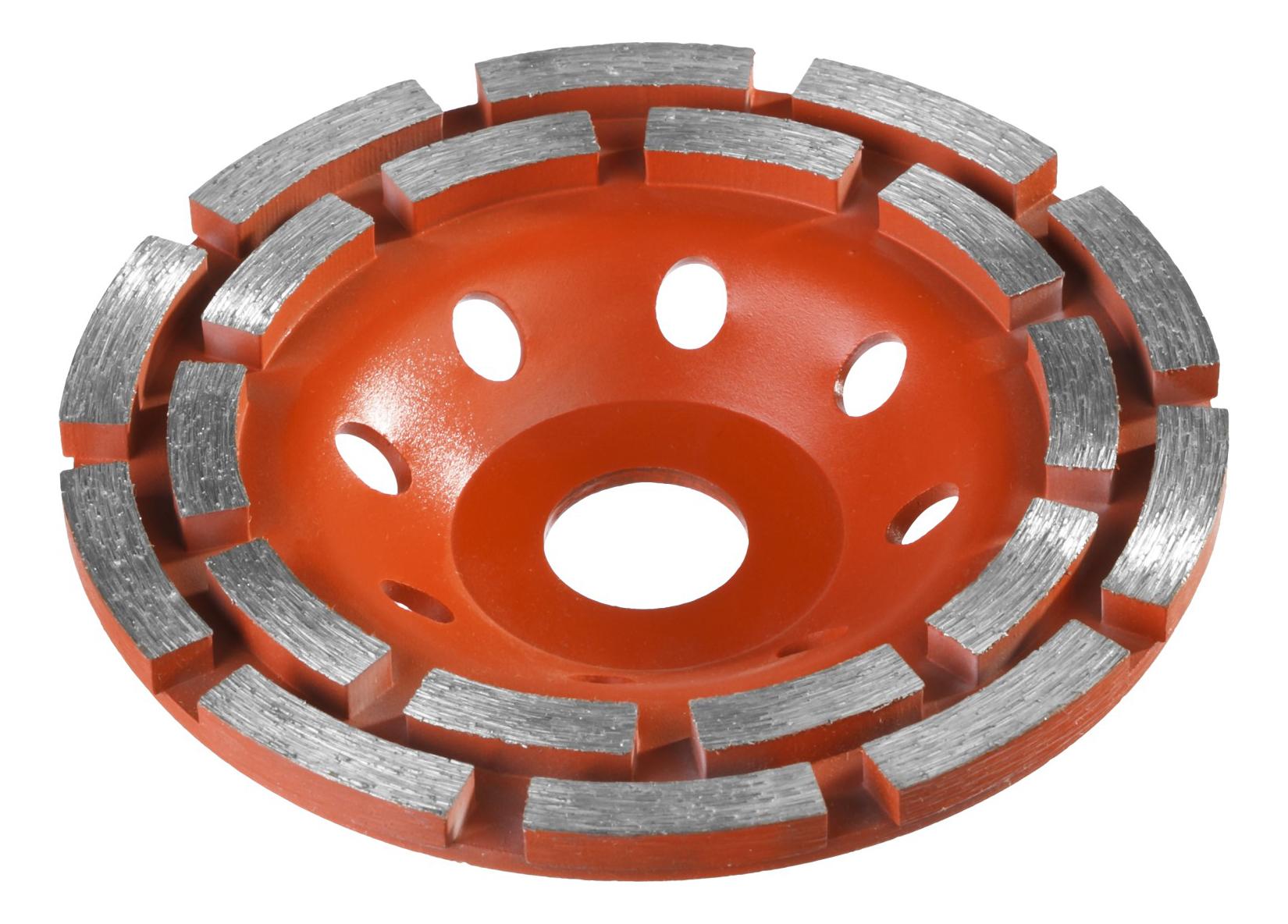 Чашка алмазная шлифовальная по бетону Зубр 33376-125