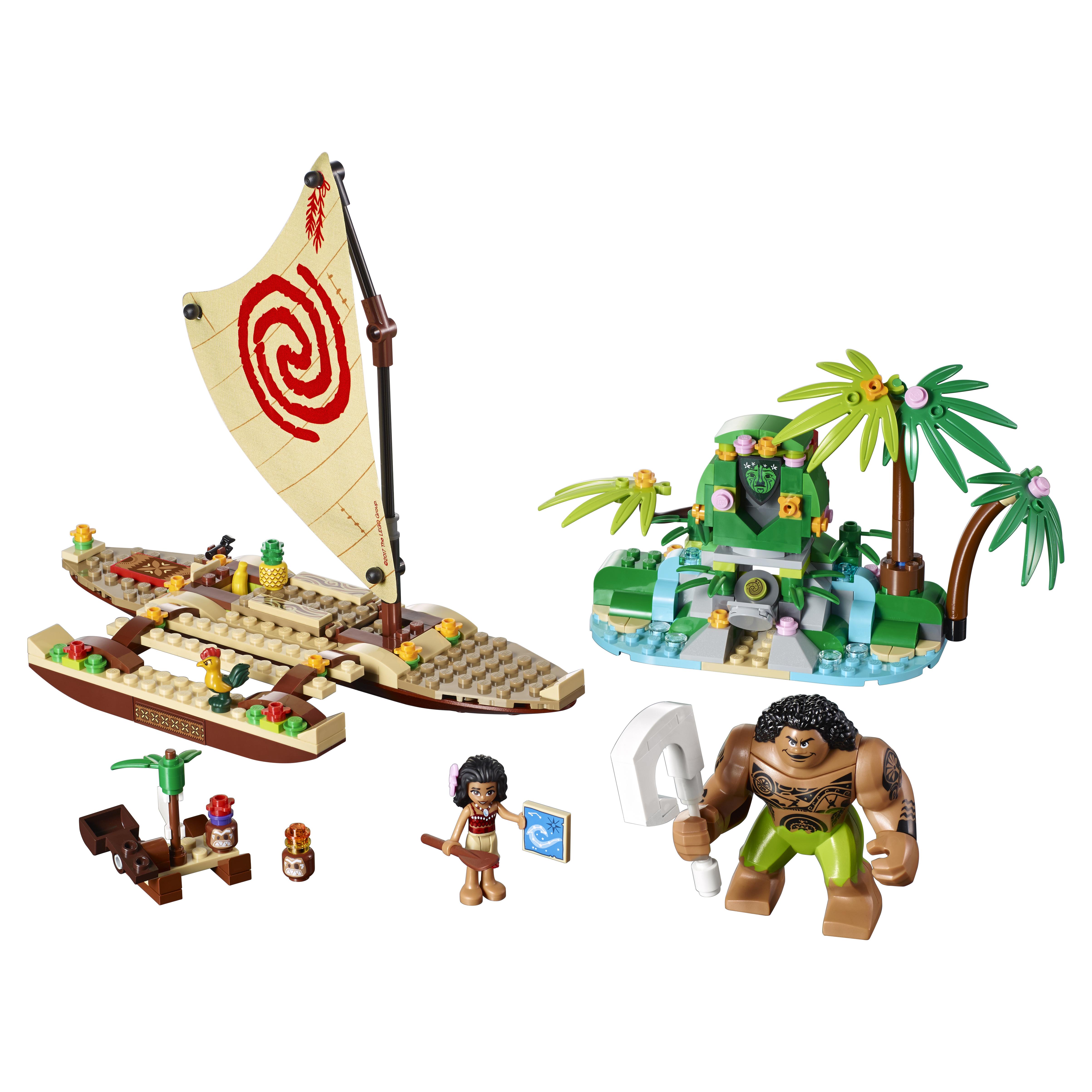 Конструктор LEGO Disney Princess Путешествие Моаны через океан (41150) фото
